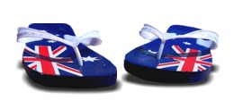 Australia Day Thongs