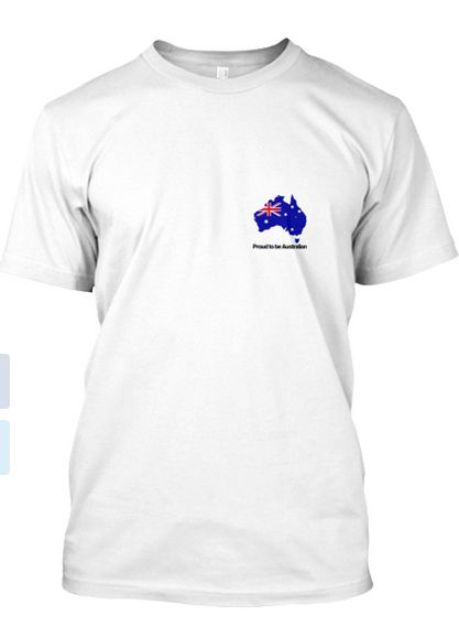 This is our Australia Tshirt Front
